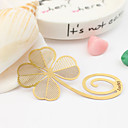 Lovely Clover Shaped Alloy Bookmarks