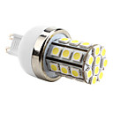 G9 6W 30x5050 SMD 500-550LM 6000-6500K Natural White Light LED Corn Bulb (220V)
