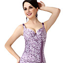 Chinlon with Jacquard Bustier Daily/Special Occasion Wear Shapewear