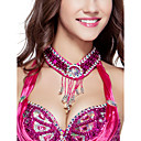 Dancewear Polyester With Beading /Sequins Belly Dance Necklace For Ladies More Colors