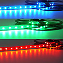 Preuve de l'eau 5M LED Strip avec 300 LED (bleu / jaune / vert)