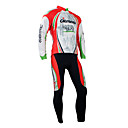 Moda Santic Creato Winter-Style 100% poliestere e in bicicletta in pile Suits (California Red)