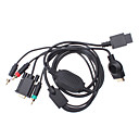 Copper Plating VGA Cable Kit for PS3/Wii