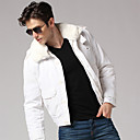 Men's Gentle White Coat