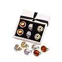 Women's Clip On Earrings(Three Pairs/Pack)