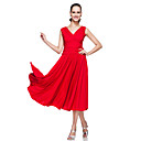Dancewear Polyester Ballroom Modern Dance Dress For Ladies