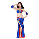 Dancewear spandex Belly Dance Performance traje para las seoras ms colores