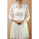 Delicate Half-Sleeve Lace Wedding/Evening Jacket/Wrap (More Colors)