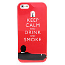 Keep Calm Style Hard Case for iPhone 5