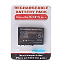 Rechargeable Battery Pack for Nintendo DS Lite + Screwdriver (2000mAh)