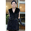 Chic maniche Faux Fur Carriera / Partito Vest