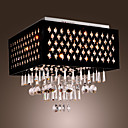 Lmpara Chandelier de Cristal Cromada con 9 Bombillas - BILLINGHAM