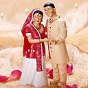 India Style Bruid & Bruidegom Wedding Cake Topper