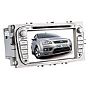 7 polegadas carro dvd player para ford com gps, bluetooth, ipod, tv