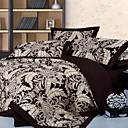Pineapple Flower Full 4-Piece Duvet Cover Set