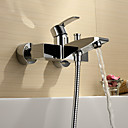 Sprinkle by Lightinthebox - Chrome Finish Single Handle Wall Mount Bathtub Faucet