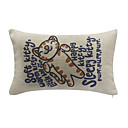 Soft Kitty Cotton/Linen Decorative Pillow Cover