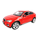 Scala 1:24 Statica Metallo BMW X6 Model Car Diecast (colori casuali)