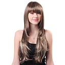 Capless Long Grey Wavy High Quality Synthetic Japanese Kanekalon Wigs