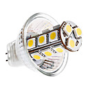 MR11 3.5W 18x5050 SMD 270-290LM 3000-3500K Warm White Light Bulb Milho LED (12V)