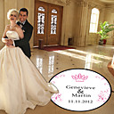 Personalized Crown Wedding Dance Floor Decal (More Colors)
