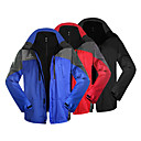INBIKE Series 100%Polyester+Fleece Fabric Long Sleeve Windproof/Waterproof Men Jersey for Hiking/Cycling(2 PCS)IO606