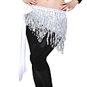 Dancewear Satin with Tassels and Sequins Belly Dance Belt For Ladies More Colors