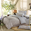 Enoch Jacquard Full / Queen 4-Piece Duvet Cover Set