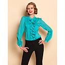 TS Ruffle Front Blouse Shirt