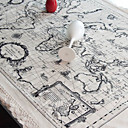 World Map Style Table Cloth