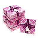 Classic Plaid Gift Box With Ribbon Bow(More Sizes)
