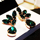 High-End Sexy Gemstone Earrings with Wings