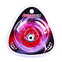 Caoutchouc et acier au carbone Skate Wheel Shimmering amortissement anti-skip-Rouge (1PCS, Diamtre = 72mm)