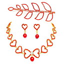Stylish Alloy With Rhinestone Women's Jewelry Set Including Necklace,Earrings,Tiara