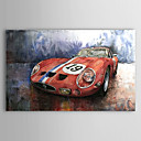 Hand Painted Oil Painting Transportation Racing Car 1303-SL0058