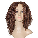 Capless Medium Curly High Quality Synthetic Wigs