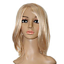 Capless Silky Straight Medium High Quality Synthetic Wigs