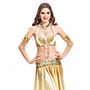 5-piece Dancewear Polyester With Beading Performance Belly Dance Outfits For Ladies More Colors