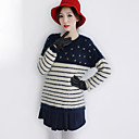 Damen Navy Sweater