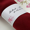 Personalized Paper Napkin Ring - Gown (Set of 50)