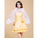 Excellent Organza Bell Long Sleeve Wedding/Evening Jacket