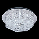 Crystal Flush Mount with 12 Lights in G4 Base and Snowflake Design