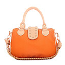 Women's OL Style Diamond-decorated PU Satchel(30*20*16cm)