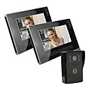 "9""Color Video Door Phone , with SD card Picture Record,Taking Photo (1 Camera To 2 Monitor)"