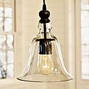 60W Colgante Vintage Shade Light antiguo Glass