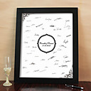Personalized Signature Frame - Circle (Includes Frame)
