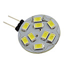 G4 4W 400-430LM 6000-6500K Natural White Light LED Spot Bulb (12V)