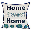 Modern Sweet Home Cotton Decorative Pillow Cover