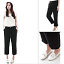 Women's Boyfriend Casual Crop Pants