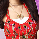 Performance Dancewear Heart Design Belly Dance Necklace For Ladies
